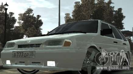 Ваз Tuning 2114 de Daguestán para GTA 4
