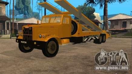 Transportador automático KrAZ 255 para GTA San Andreas
