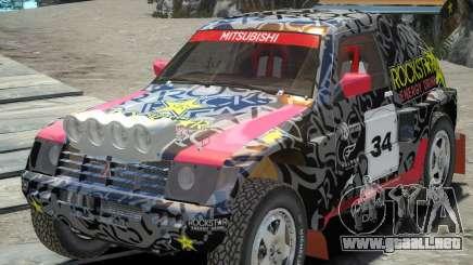 Mitsubishi Pajero Proto Dakar EK86 vinilo 1 para GTA 4