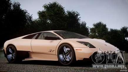 Lamborghini Murcielago LP670-4 SuperVeloce para GTA 4