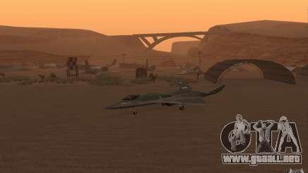 YF-23 para GTA San Andreas