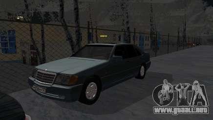 Mercedes-Benz W124 para GTA San Andreas