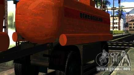 MAZ 533702 trailer camión para GTA San Andreas
