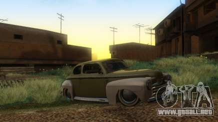 Ford Coupe 1946 Mild Custom para GTA San Andreas