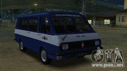 Letonia RAF 2203 Taxi para GTA San Andreas