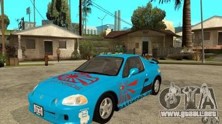 Honda CRX - DelSol para GTA San Andreas