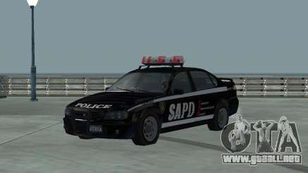 Cop Car Chevrolet para GTA San Andreas
