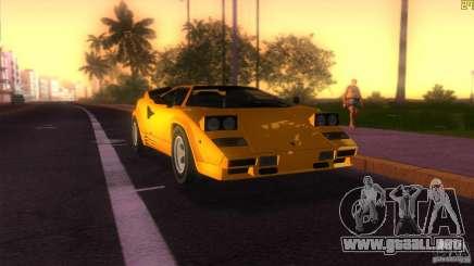 Lamborghini Countach para GTA Vice City