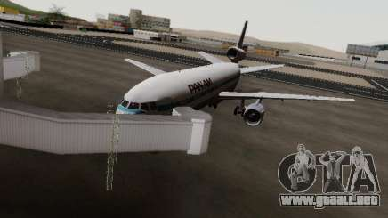 McDonell Douglas DC-10-30 PanAmerican Airways para GTA San Andreas
