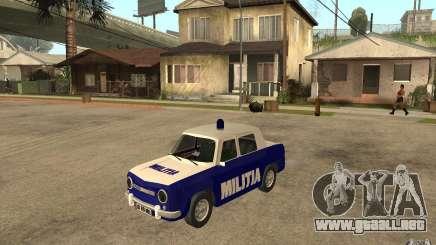 Dacia 1100 Militie para GTA San Andreas