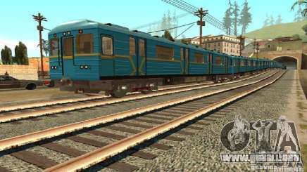 Metro tipo erizo para GTA San Andreas