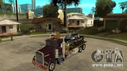 Kenworth W900 SALVAGE TRUCK para GTA San Andreas