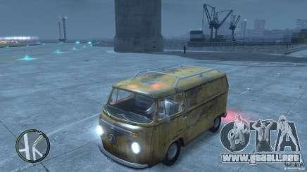 VW Transporter T2 para GTA 4