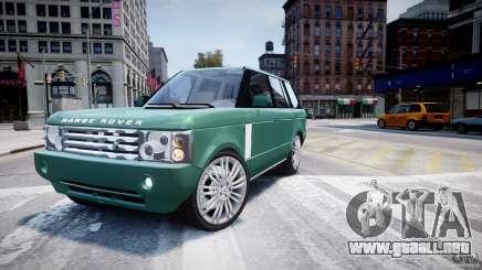 Range Rover Vogue para GTA 4
