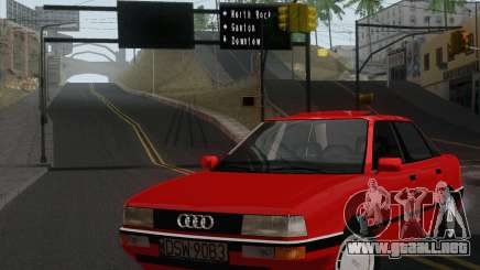 Audi 90 Quattro para GTA San Andreas