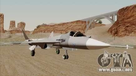T-50 Pak Fa para GTA San Andreas
