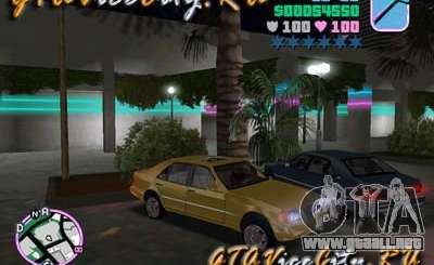 Mercedes-Benz S600 W140 para GTA Vice City