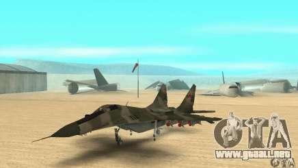 MIG-29 para GTA San Andreas