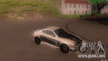 Hyundai Tiburon V6 Coupe tuning 2003 para GTA San Andreas