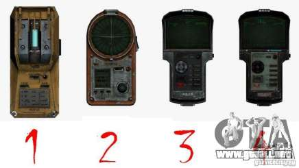 Detector de l. a. t. s. k. e. R # 2 para GTA San Andreas