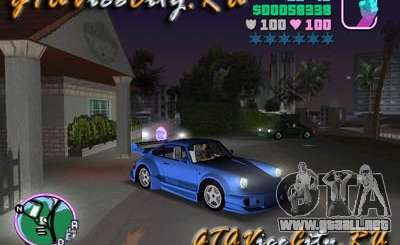porsche para gta vice city. Black Bedroom Furniture Sets. Home Design Ideas