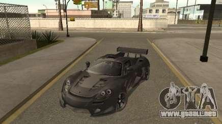 Porsche Carrera GT silver para GTA San Andreas