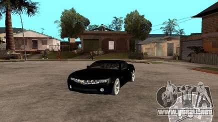Chevrolet Camaro Concept para GTA San Andreas