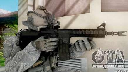M4A1 para GTA San Andreas