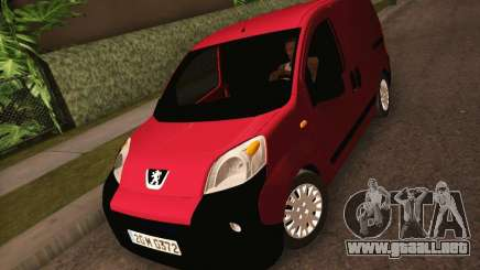 Peugeot Bipper para GTA San Andreas