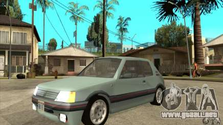 Peugeot 205 GTI v2 para GTA San Andreas