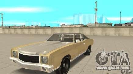 Chevy Monte Carlo [F&F3] para GTA San Andreas