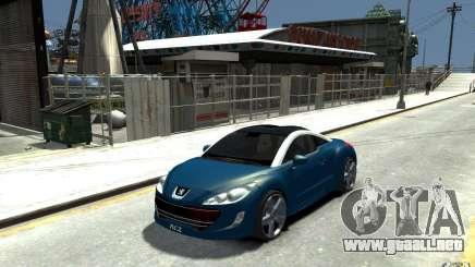 Peugeot 308 RC Z 2010 para GTA 4