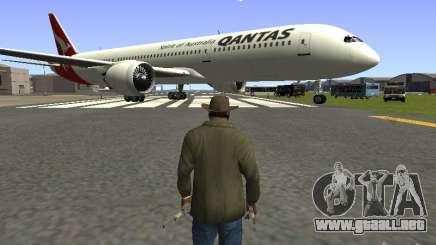 Boeing 787 Dreamliner Qantas para GTA San Andreas