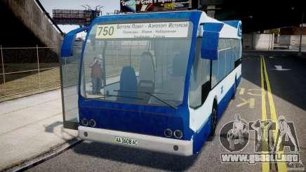 DAF Berkhof City Bus Amsterdam para GTA 4