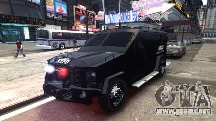 Lenco BearCat NYPD ESU V.1 para GTA 4