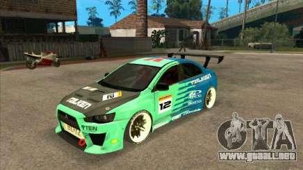 Mitsubishi Evo X Falken para GTA San Andreas