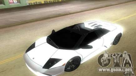 Lamborghini Murcielago LP640 Roadster para GTA Vice City