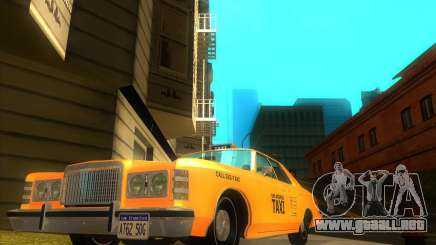 Ford Custom 500 4 door taxi 1975 para GTA San Andreas