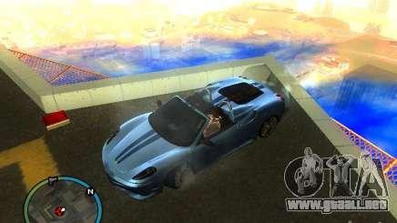 Ferrari F430 Scuderia M16 2008 para GTA San Andreas