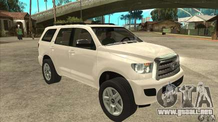 Toyota Sequoia para GTA San Andreas