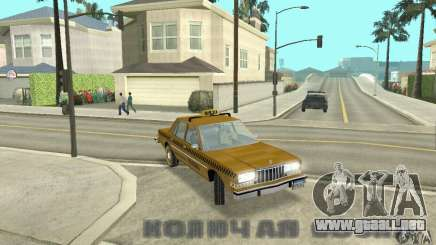 Dodge Diplomat 1985 Taxi para GTA San Andreas