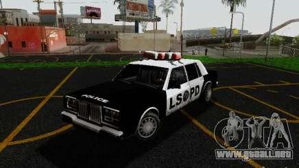 Greenwood Police LS para GTA San Andreas