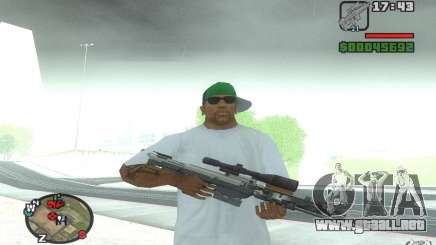 Un rifle de francotirador desde un Ballad of Gay Tony para GTA San Andreas