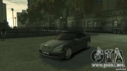 Mercedes Benz S550 para GTA 4
