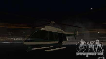 GTA IV Police Maverick para GTA San Andreas