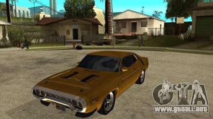 1971 Plymouth Roadrunner 440 para GTA San Andreas