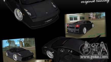 Lamborghini Gallardo Hamann Tuning para GTA Vice City