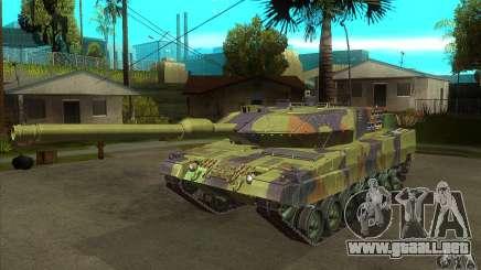 Leopard 2 A6 para GTA San Andreas