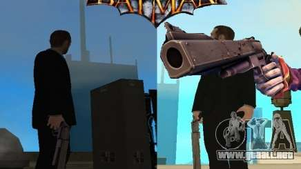 Joker Guasón/cañón del arma para GTA San Andreas