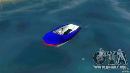 Speedboat dinghy para GTA Vice City